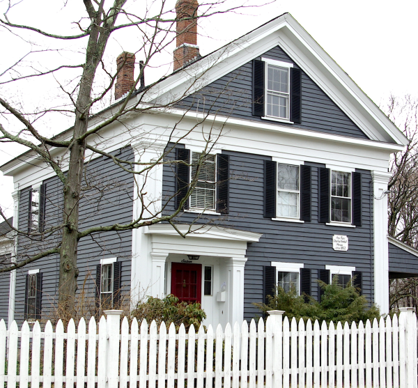 Greek Revival Farmhouse the greek revival in small town new england