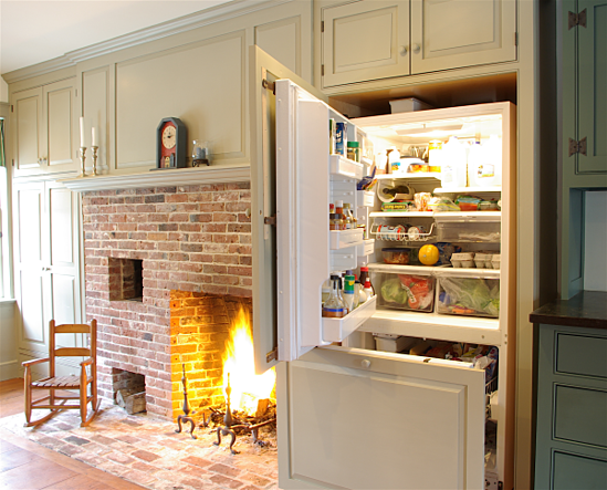 One approach to old house kitchen renovations for Old home kitchen remodel