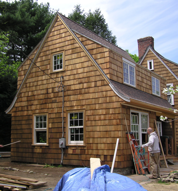 Roof Of Addition To Historic House