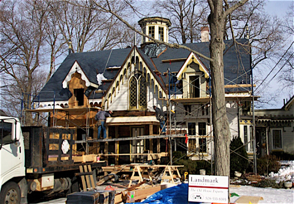 Foxboro Ma Gothic Revival Historic Restoration