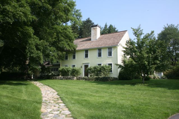 ... 18th century Mass house