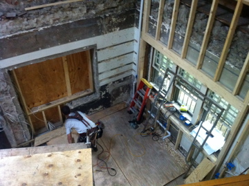 carriage house interior framing resized 600