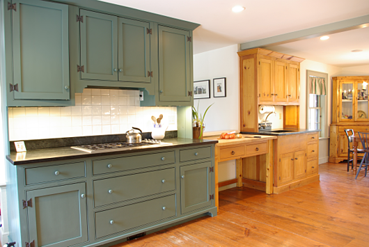 How Long To Milk Paint Kitchen Cabinets