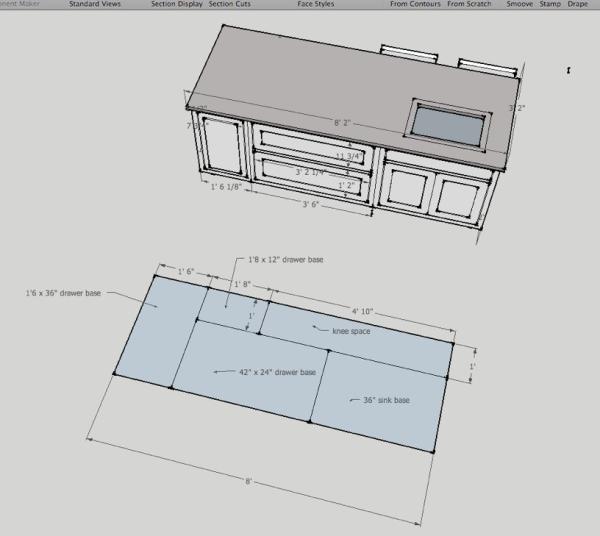Groland Kitchen Island Dimensions: Case Study: Planning A Kitchen Renovation