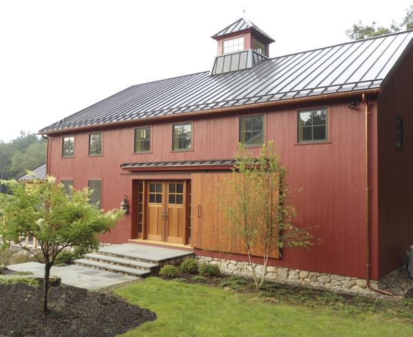 Weston, MA barn
