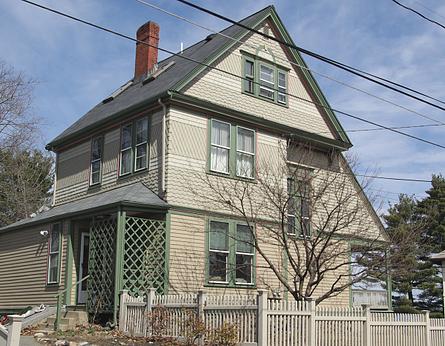 Historic house earth tones