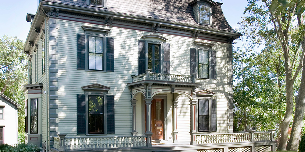 historic renovation for 1871 second empire style home. Black Bedroom Furniture Sets. Home Design Ideas
