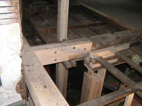 Timber Frame Repairs Historic Restoration