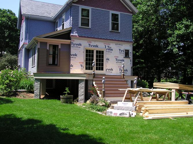 Victorian Home Restoration In Foxboro Ma