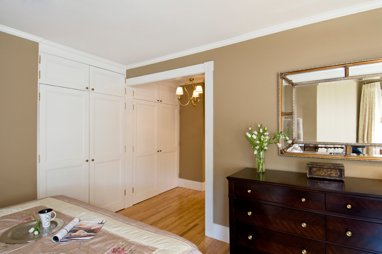 Historic Restoration Built-in Closets