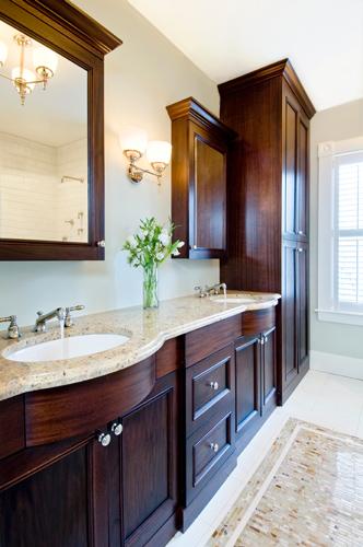 Historic Restoration Master Bath Vanity