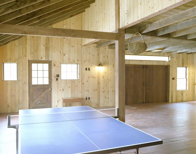 Barn Restoration Interior Rec Room