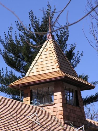 Historic Restoration Cedar Roof
