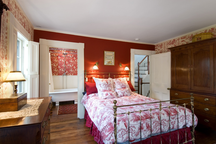 greek revival bedroom