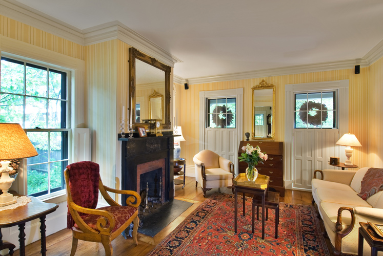 Greek Revival Front Parlor
